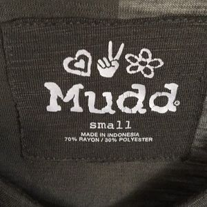 Mudd Tops - Mudd Olive Green Juniors Top S